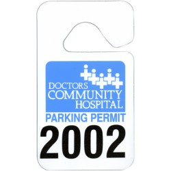 numbered-parking-permit-tag