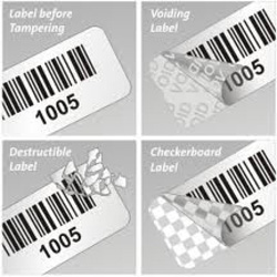 Tamper Proof and Tamper Evident Labels
